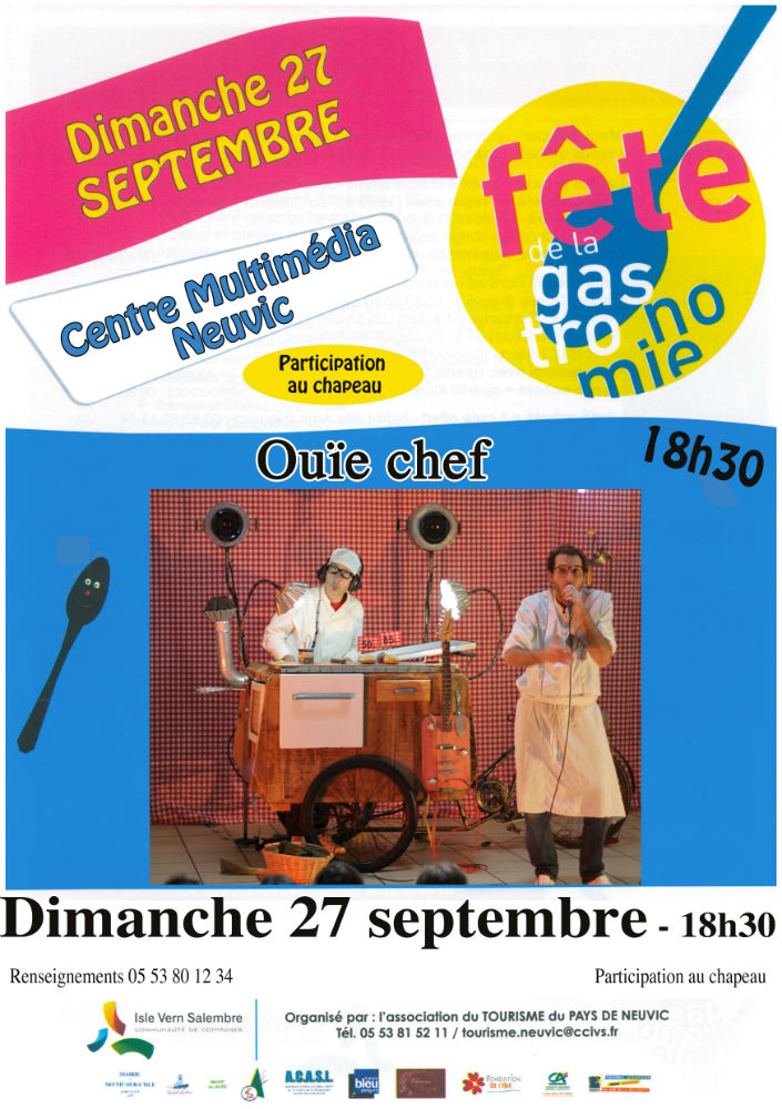 spectacle Ouie chef centre multimedia